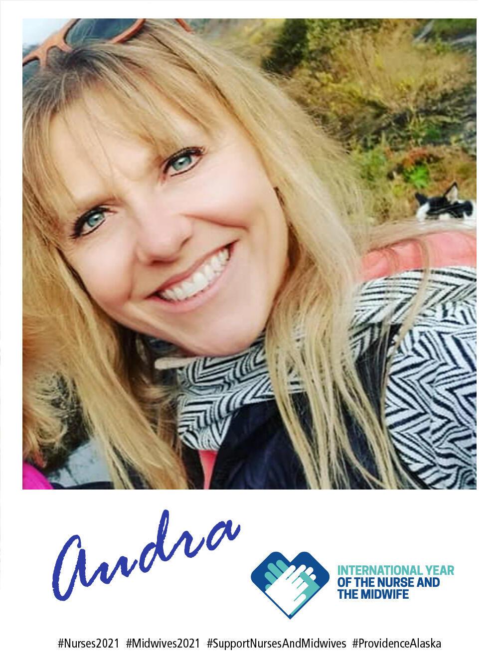 Audra McCann - Celebrating nurses